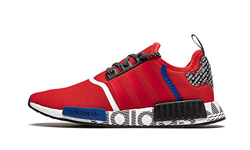 adidas Mens NMD_R1 Red Fv5214 - Size 9.5