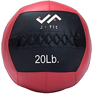 JFIT Wall Ball, Red/Black, 20 LB (B009SGR988)   Amazon price tracker / tracking, Amazon price history charts, Amazon price watches, Amazon price drop alerts