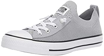 Converse Women s Chuck Taylor Shoreline Knit All of The Stars Sneaker Wolf Grey/White/Black 7 M US