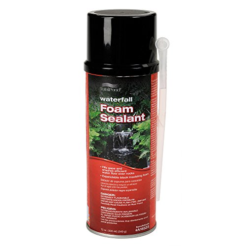 TotalPond Waterfall Foam Sealant, 12 oz.