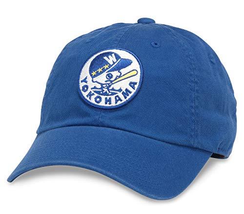 American Needle Ballpark NPB Japanese Central League Baseball Cap (43027-CL-Parent) - Blau - Einheitsgröße