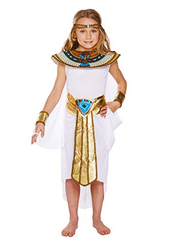 FANCY DRESS CHILD EGYPTIAN GIRL LARGE 10-12 YRS by Henbrandt