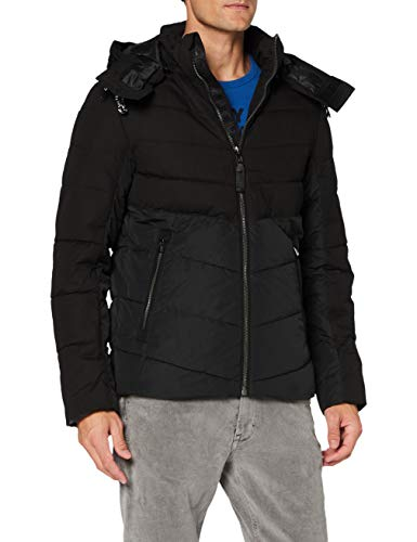TOM TAILOR Herren Puffer Jacke, 29999-Black, XL