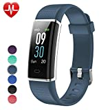 Fitness Tracker,Willful Heart Rate Monitor Fitness Watch Activity Tracker(14 Modes) Pedometer with Step Counter Sleep Monitor Call SMS SNS Notice for Women Men Kids (Color Screen,IP68 Waterproof)
