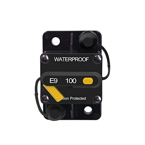 Circuit Breaker Interruptor de Circuito con Restablecimiento Manual estéreo de Audio Bicicletas Fusible en línea Adecuado para protección de sobrecarga de Corriente del Coche del Sistema