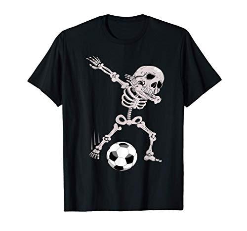Esqueleto Halloween Divertido regalo jugador de fútbol Camiseta