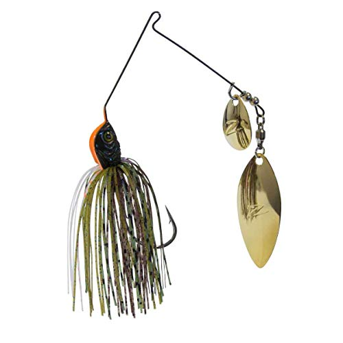 Z-MAN Slingbladez Spinner Bait, Freshwater, 1/2 oz, 5/0 Hook, Bluegill, Package of 1 (SBT12-07)