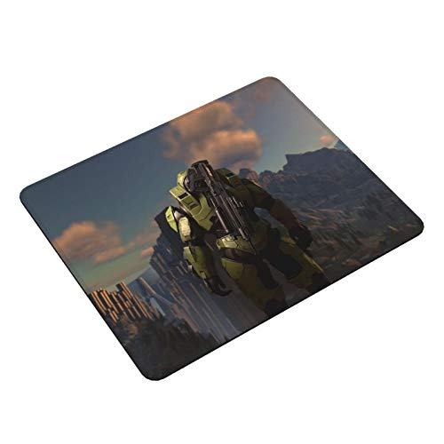 "Akeanu Halo Infinite Game Gaming Mat,Non-Slip Rubber Gaming Mouse Pad,Good Gift for Office Work and Home Computer Laptop Accessories(11.8""X9.8"")"