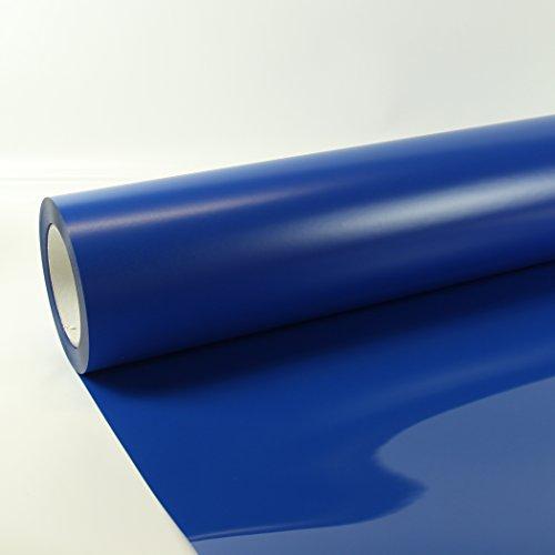 25,18€/m² 1m x 0,5m Poli-Flex Premium Folie Koenigs Blau 406 Flexfolie Buegelfolie Poli-Flex
