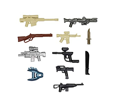 BrickArms Value Waffenset, Custom Waffen für LEGO® Figuren