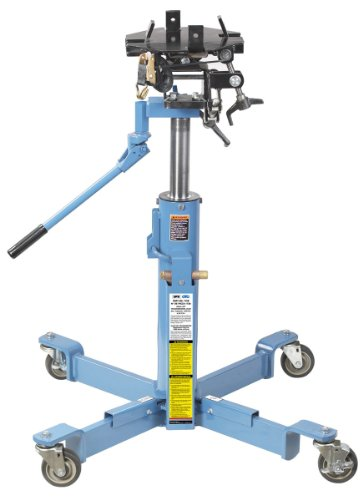 OTC 1728 1000 lbs Capacity Air-Assisted High-Lift Transmission Jack