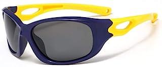 GF-outdoor products - Gafas de Sol de protección UV bebé niño de Gafas de Sol de la Moda de Tendencia Muchacha de los niños de los niños (Color : Yellow)