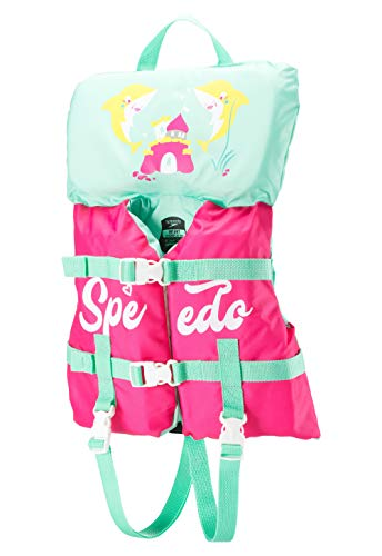 Speedo Baby Swim Infant Begin to Swim Flotation Life Vest , Bright Pink