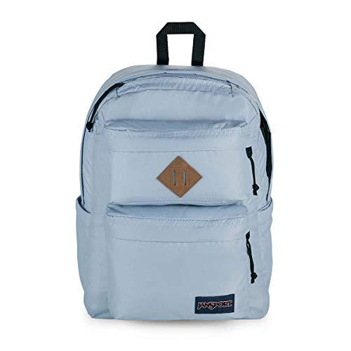 JanSport Double Break Backpack - School, Work, Travel, or Laptop Bookbag with Water Bottle Pocket