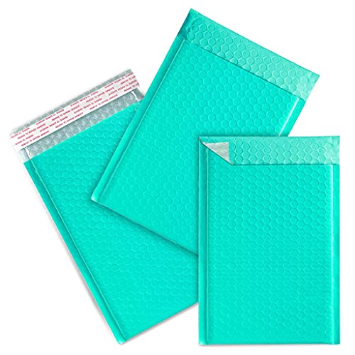 """Bubble Mailers 4x8"""",Channel Print 25PCS Poly Bubble Mailers, Padded Envelopes Bulk Bubble Lined Wrap,Packaging Bags Shipping Bags for Mailing/Shipping/Packaging"""