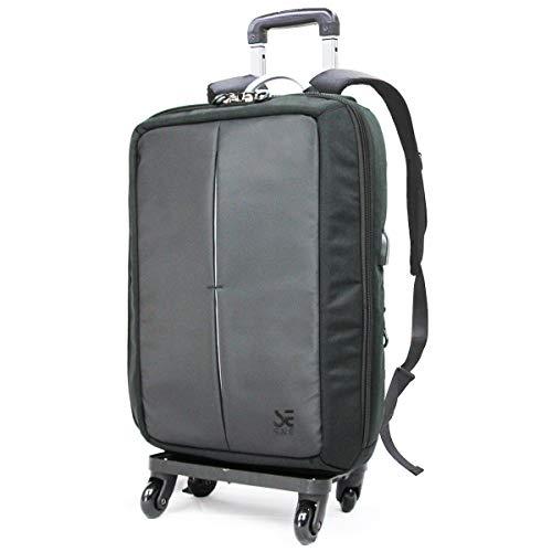 キャリーバッグ リュック スーツケース 2WAY 軽量 旅行 防災 バックパック 4輪 USB 充電 バッグ スーツ 通勤 ショッピングキャリー ビジネス S&E
