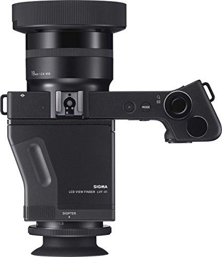 Sigma Kit Compatta Digitale DP1 Quattro + Mirino LVF-01, Nero