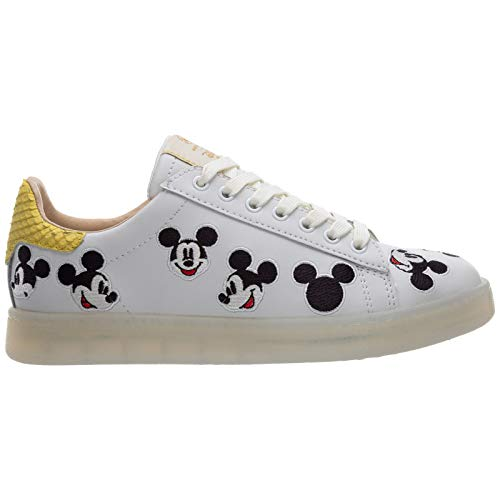 MOA Master of Arts Damen Disney Sneaker Bianco 37 EU