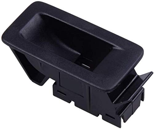 Cuadro de soporte de montaje para interruptor de cristal de ventana, ajuste para VW/Fit para Touran/Fit para Touareg/Fit para Golf/Fit For Plus (negro)
