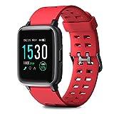 *HOMVILLA *Cronometros Esportius, Fitness *Tracker, Polsera d'Activitat, Rellotge Intel·ligent Impermeable amb Pulsòmetre Monitor de Somni *Smartwatch per a Dona Home Nens Compatible amb *iOS i Android