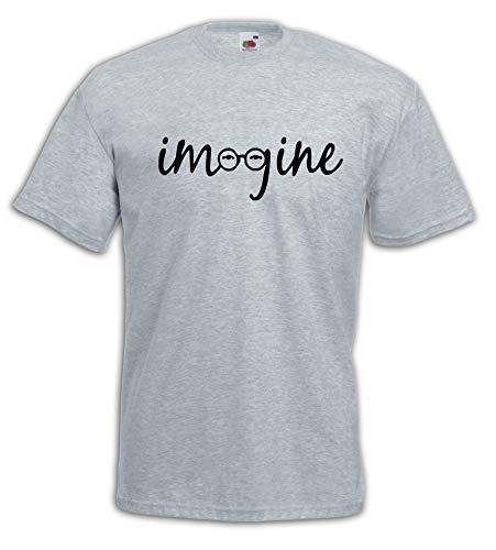 Settantallora - T-Shirt Maglietta J11 Imagine Cit. Lennon Taglia L