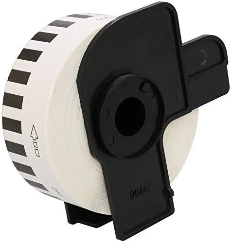 DK-22210 29mm x 30.48m Endlos-Etiketten kompatibel für Brother P-Touch QL-500 QL-550 QL-560 QL-570 QL-700 QL-710W QL-720NW QL-800 QL-810W QL-820NWB QL-1050 QL-1060N QL-1100 QL-1110NWB Etikettendrucker