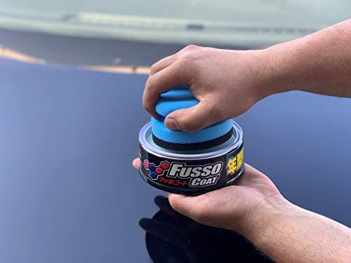 Soft99 Fusso Coat 12M Dark, Versiegelung inkl Pad & DFT Microfasertuch