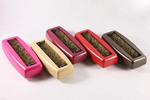 Tischroller Rollbürste Krümmelbürste Hand-Cleaner mit echtem Naturhaar -Made in Germany-