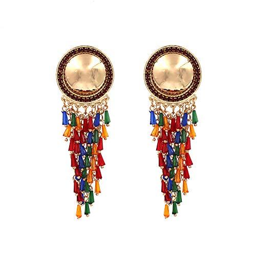 SDKOY Modische Ohrringe Für Frauen - Regenbogen Wasserfall Quaste Anhänger, Exquisite Personalisierte Schmuck, Kreative Geburtstagsgeschenk Für Sie, Freundin, Frau