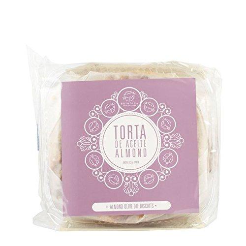 Brindisa Huile d'olive Biscuits Aux Amandes 225G - Paquet de 6