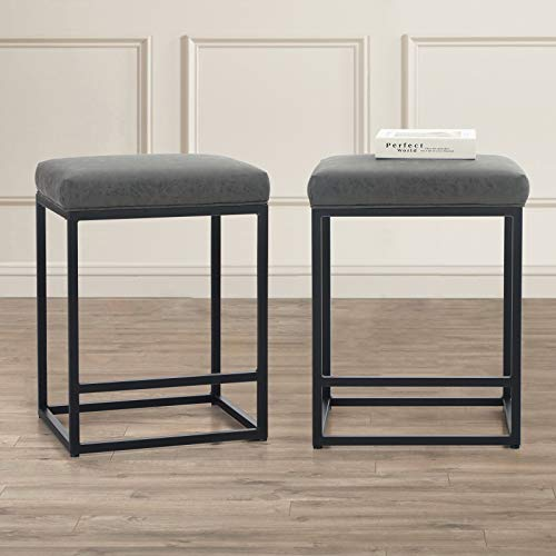 MAISON ARTS Counter Height Bar Stools Set of 2 for