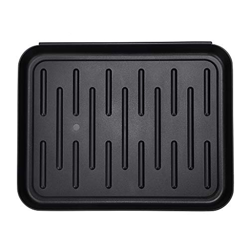 OwnMy Black Boot Tray Mat, Multi-Purpose Shoe Tray Mat for Plants Pet Food Dog Water Bowls Cat Litter Box, Boot and Shoes Drying Mat for Indoor and Outdoor