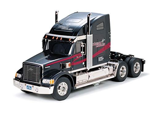TAMIYA 56314 1:14 Knight Hauler, Bausatz zum Zusammenbauen, RC Truck, fernsteuerbarer, Lastwagen, LKW,...