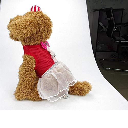 Kiu Lovely Pet Small Dog Harness Vest hondenharnas zacht en ademend Cat Control armband van nylon mesh servies walk out harness