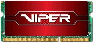 Patriot Viper 4 系列 DDR4 16GB 2666MHz (PC4-21300) SODIMM 单模块 PC 内存 (PV416G266C8S)