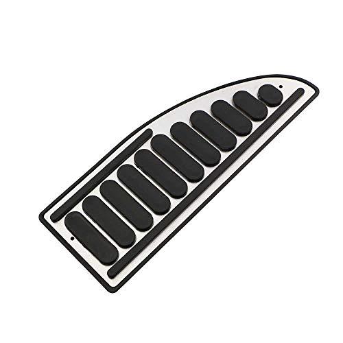 MPOQZI Pedales del Acelerador del Coche Juego de Pedales de Freno Cubiertas Cubierta de los Pedales del reposapiés del Embrague, para Ford Focus 2 MK2 II 2005-2012 Piezas