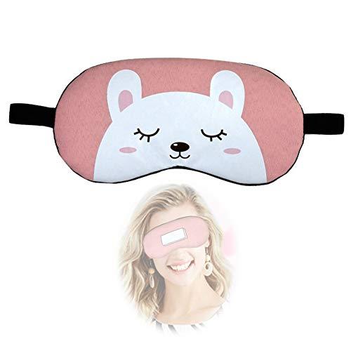 ZPYZA Safe Low Drukverlichtend stressmasker voor de ogen met stoom, warm, voor verlichting van slaapmasker, verlicht opgeblazen ogen