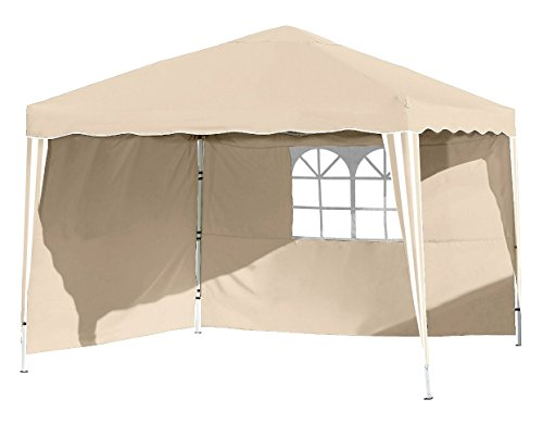 Vanage – vg-8422 Gazebo 300 x 300 x 260 cm, Colore: Beige