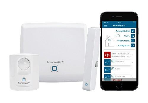 Homematic IP Smart Home Starter Set Sicherheit - Intelligenter Alarm auch aufs Smartphone