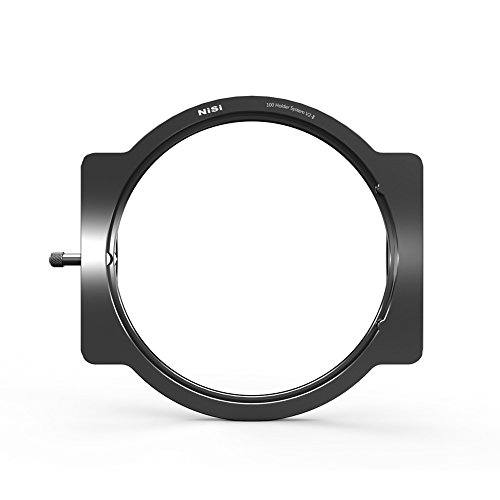NiSi 100mm Aluminum Filter Holder V2-II can be Used on 52mm,55mm,58mm,62mm,67mm,72mm,77mm,82mm Lens Through Adaptor Rings (Adaptor Rings not Included)