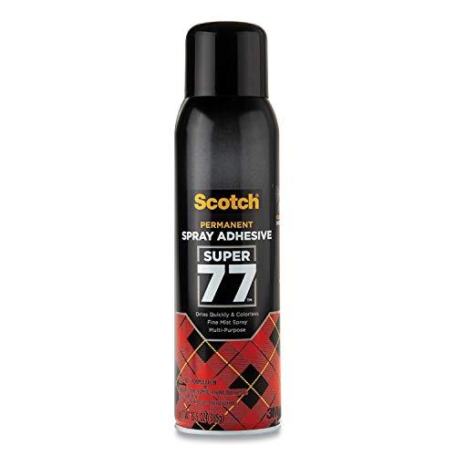 3M Super 77 Multipurpose Adhesive Aerosol, 24 fl oz