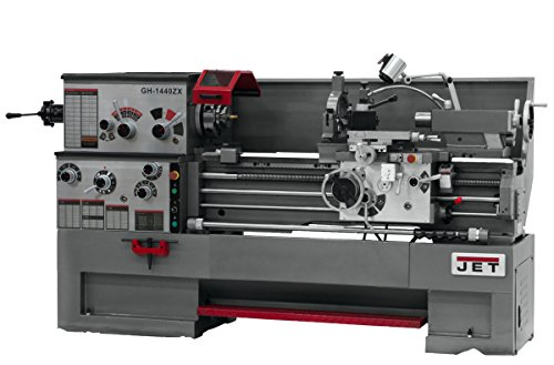 Buy JET GH-1440ZX-TAK Lathe with Taper Attachment Installed