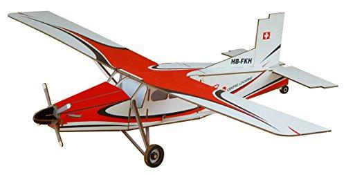 Siva 70005 - 3D-Modellbausatz Pilatus PC-6 Turbo Porter para Centro