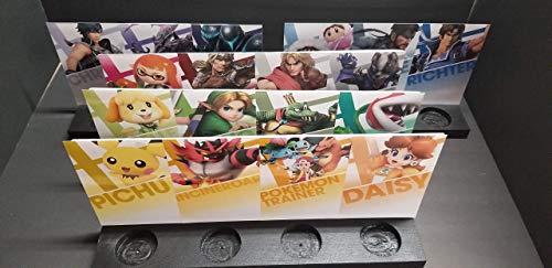 Smash Bros Ultimate Display/Stand Set (All 24)