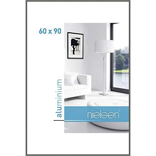 Bilderrahmen von Nielsen Alurahmen Classic 60x90 Grau - Normalglas