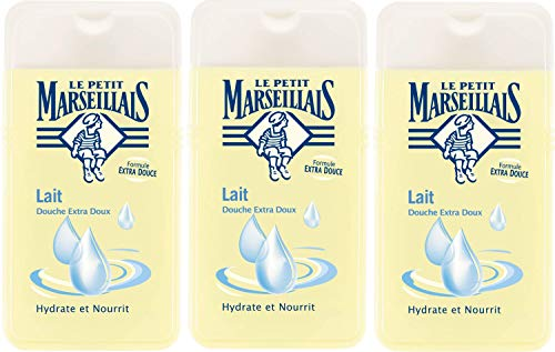 Le Petit Marseillais Duschgel, extra mild, 3er Pack (3 x 250 ml)