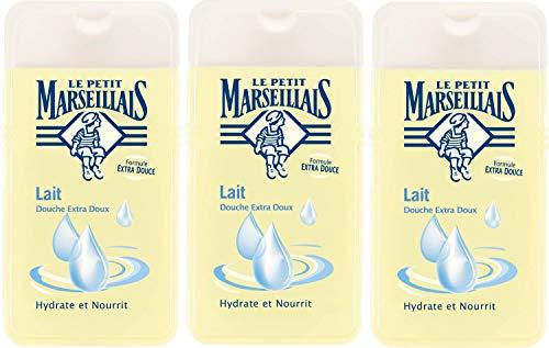 Le Petit Marseillais duschgel extra mild Milk 250ml 3er-Pack