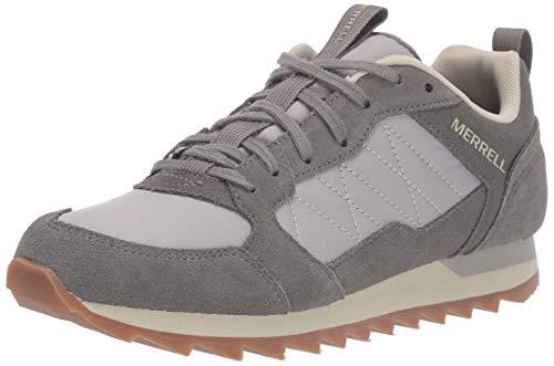 Merrell Alpine Sneaker, Zapatillas para Mujer, Gris (Charcoal/Paloma), 38 EU