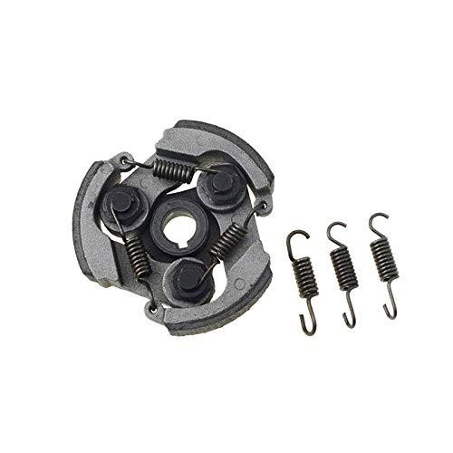 WOOSTAR Kupplungsbelag mit 3 Federn Ersatz für 2-Takt 47ccm 49ccm 50ccm 53ccm Coolster Mini Pocket Bike Dirt Pit Bike Crosser ATV