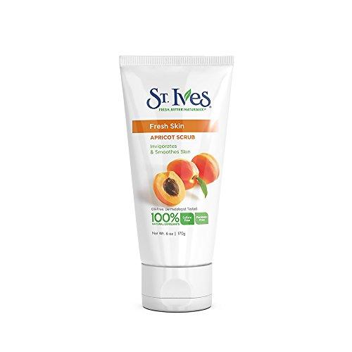 St. Ives Fresh Skin Invigorating Apricot Scrub 6 oz (Pack of 6)